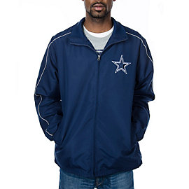 Dallas Cowboys Full Zip Microfiber Jacket