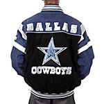 Dallas Cowboys Suede Leather Jacket