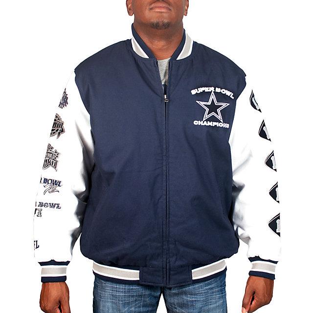 Dallas Cowboys Commemorative Canvas Jacket