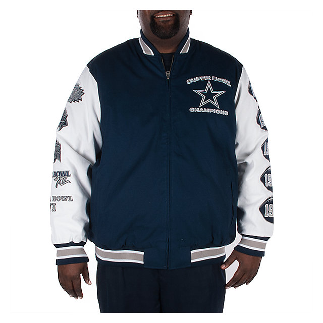 Dallas Cowboys Big and Tall Champ Jacket