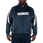 Dallas Cowboys Big and Tall Wick Track Jacket