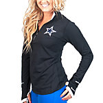Dallas Cowboys Nike Womens Conversion Quarter Zip Top