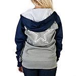 Dallas Cowboys Nike Womens Die Hard Full Zip Hoodie