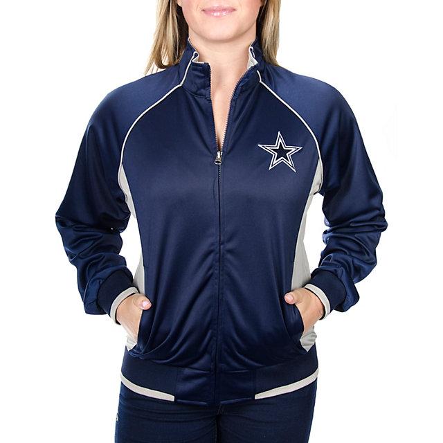 Dallas Cowboys Womens Cord Track Jacket
