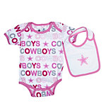 Dallas Cowboys Infant Punkin Bodysuit and Bib Set