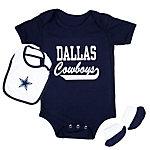 Dallas Cowboys Love Bug Bib & Bootie Set