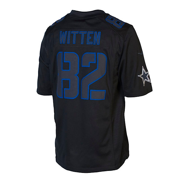 Dallas Cowboys Witten #82 Nike Limited Black Jersey
