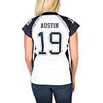 Dallas Cowboys Womens Miles Austin #19 Fan Fashion Jersey