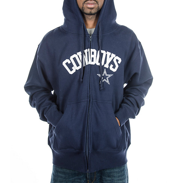 Dallas Cowboys Dive Full Zip Hoody