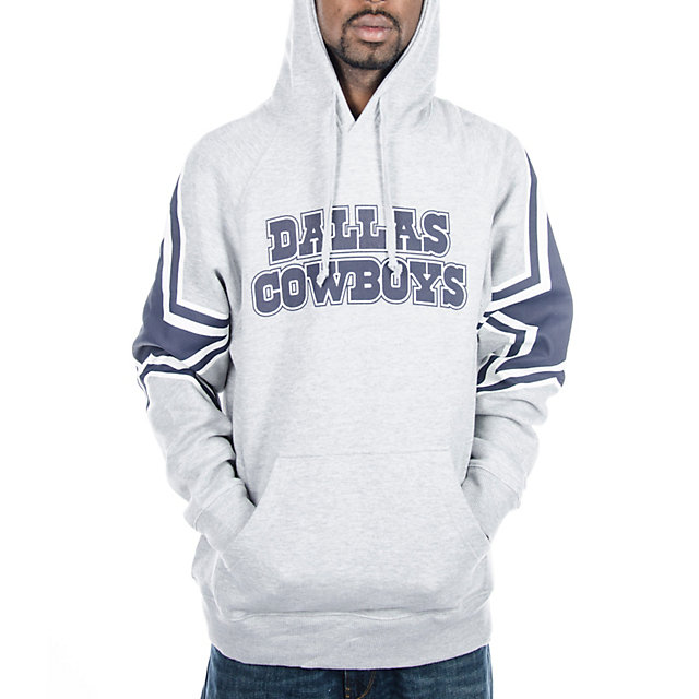 Dallas Cowboys Face Mask Hoody