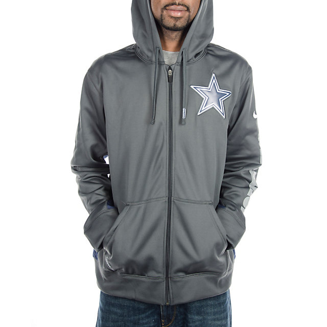 Dallas Cowboys Nike KO Full Zip Hoody