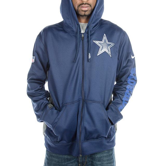 Dallas Cowboys Nike KO Full Zip Hoody