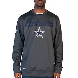 Dallas Cowboys Nike KO Fleece Crew