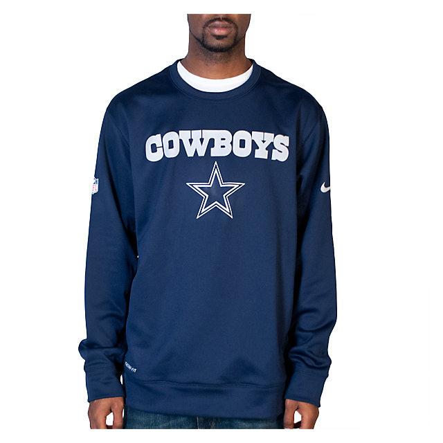 Dallas Cowboys Nike KO Fleece Crew