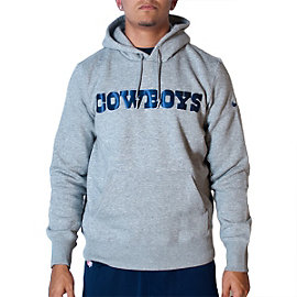 Dallas Cowboys Nike Classic Authentic Font Hoody
