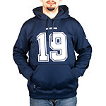 Dallas Cowboys Nike Austin Team Name and Number Hoodie