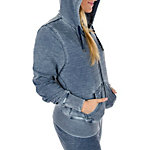 Dallas Cowboys Suzie Full Zip Burnout Hoodie