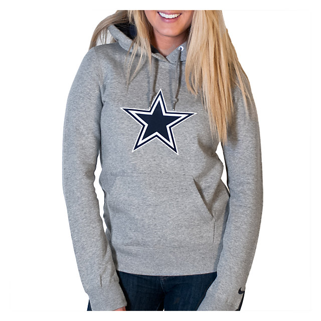 Dallas Cowboys Nike Womens Tailgater Pull Over Hoodie