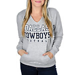Dallas Cowboys Womens Practice Too Hoody