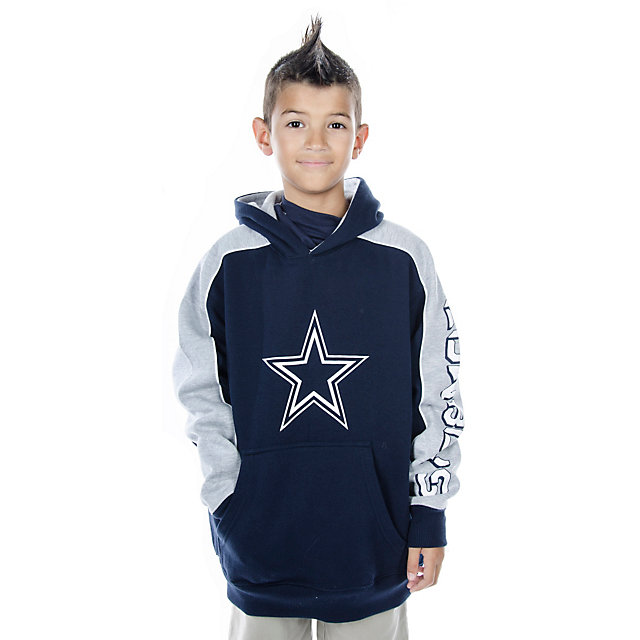 Dallas Cowboys Youth Rush Pull Over Hoodie