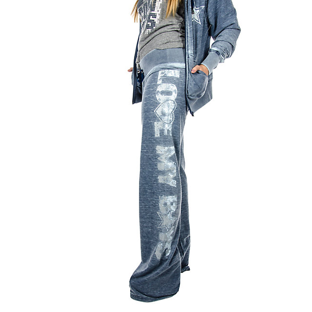 Dallas Cowboys Suzie Burnout Fleece Pant