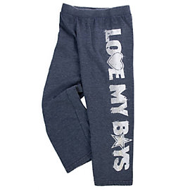 Dallas Cowboys Girls Suzie Burnout Fleece Pant