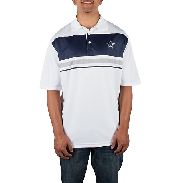 Dallas Cowboys Purpose Stripe Polo