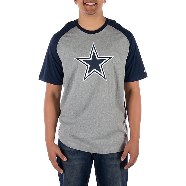 Dallas Cowboys Nike Big Play Raglan Tee