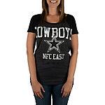 Dallas Cowboys Wisteria Raglan Top