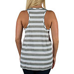 Dallas Cowboys Camellia Striped Tank