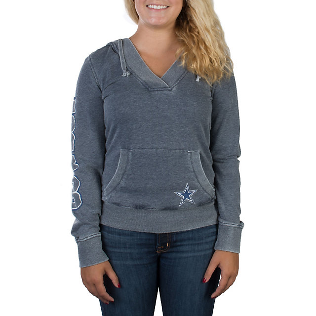 Dallas Cowboys Magnolia Burnout Hoody