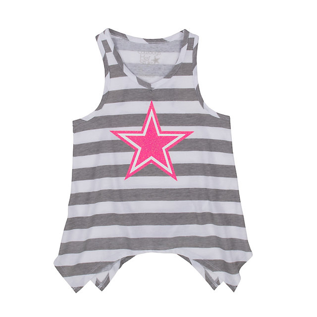Dallas Cowboys Girls Camellia Tank