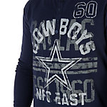 Dallas Cowboys Renegade Henley Tee