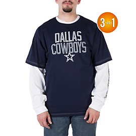 Dallas Cowboys 3-in-1 Alliance Combo Tee