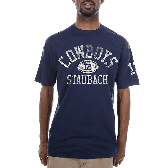 Dallas Cowboys Staubach Tradition Tee