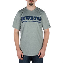Dallas Cowboys Nike Legend Elite Font Tee