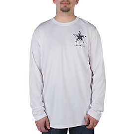 Dallas Cowboys Nike Legend Elite Conference Long Sleeve Tee