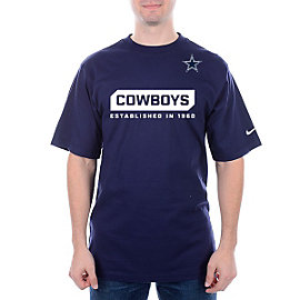 Dallas Cowboys Nike Team Issue Wordmark Tee