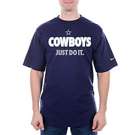 Dallas Cowboys Nike Just Do It 2 Tee