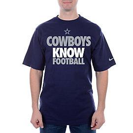 Dallas Cowboys Nike KNOW FOOTBALL Draft 2 Tee