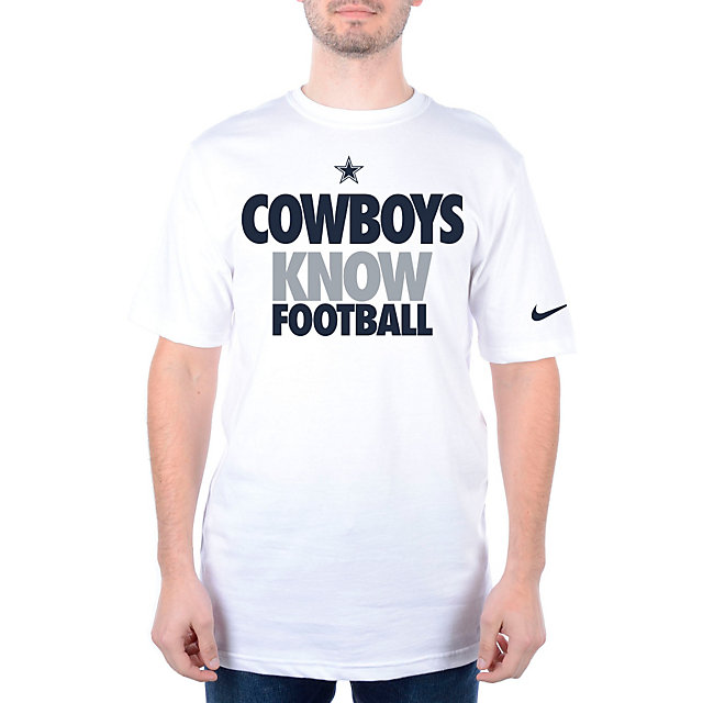 Dallas Cowboys Nike KNOW FOOTBALL Draft 2 Tee