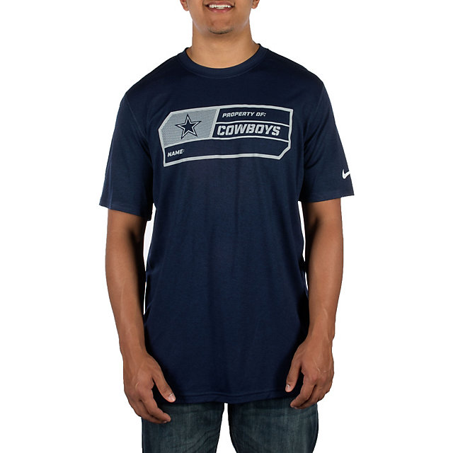 Dallas Cowboys Nike Legend Team Label Tee