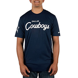 Dallas Cowboys Nike Triblend Script Tee