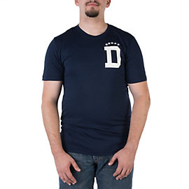 Dallas Cowboys Nike Triblend Letter Tee