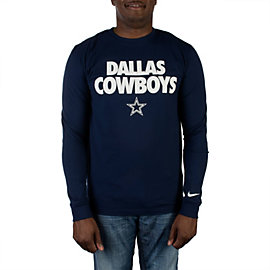Dallas Cowboys Nike Foundation Long Sleeve Tee