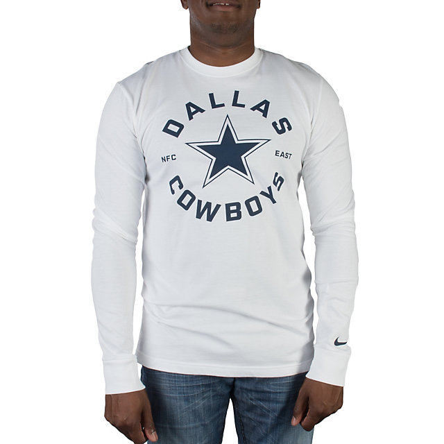 Dallas Cowboys Nike Stamp It Long Sleeve Tee