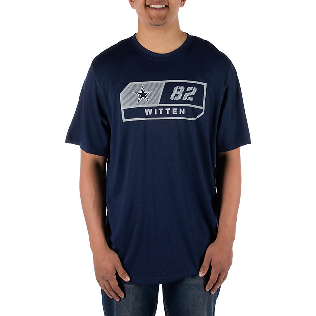 Dallas Cowboys Nike Legend Player Tee - Jason Witten #82