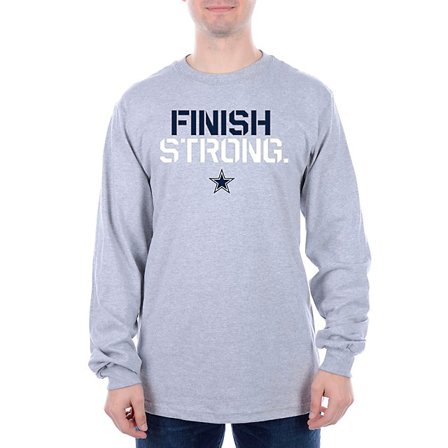 Dallas Cowboys Finish Strong Long Sleeve Tee