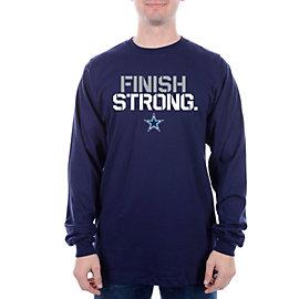 Dallas Cowboys Finish Strong Long Sleeve Tee