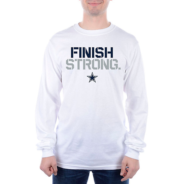 do not sell - Dallas Cowboys Finish Strong Long Sleeve Tee